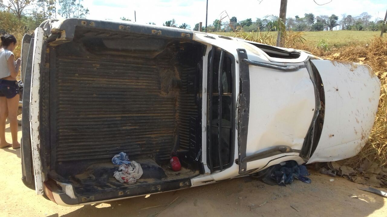 Buritis: Radialista Alex Moura se envolve em grave acidente na linha União