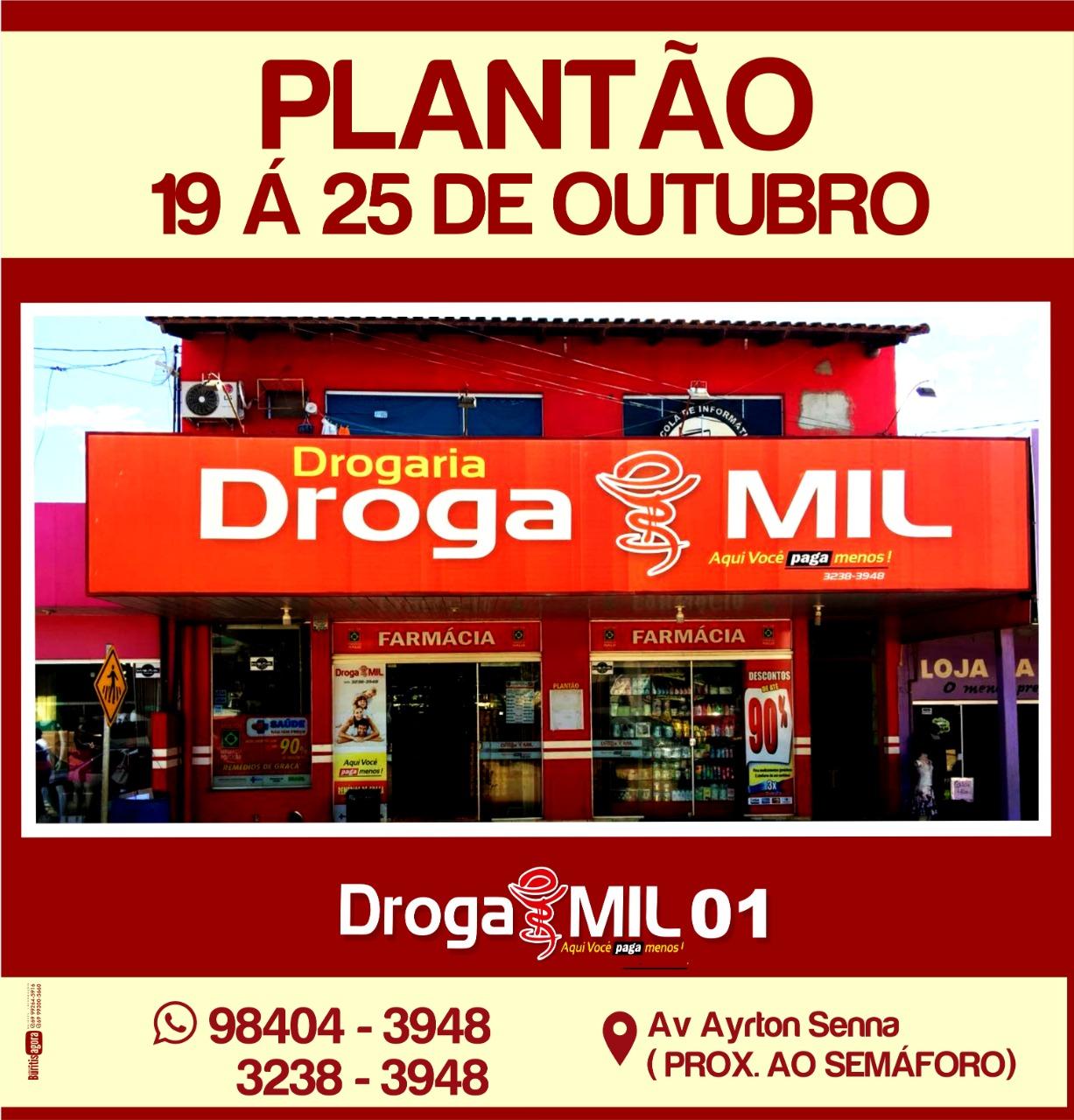 DROGA PLANTÃO 01