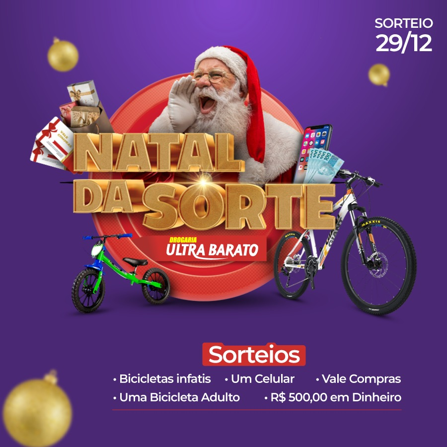 ULTRA BARATO NATAL DA SORTE